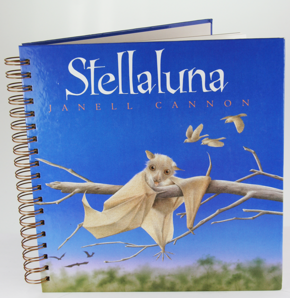 Stellaluna Upcycled Book Journal