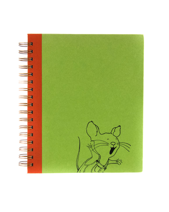 If You Give a Mouse a Cookie book journal notebook upcycled discarded book