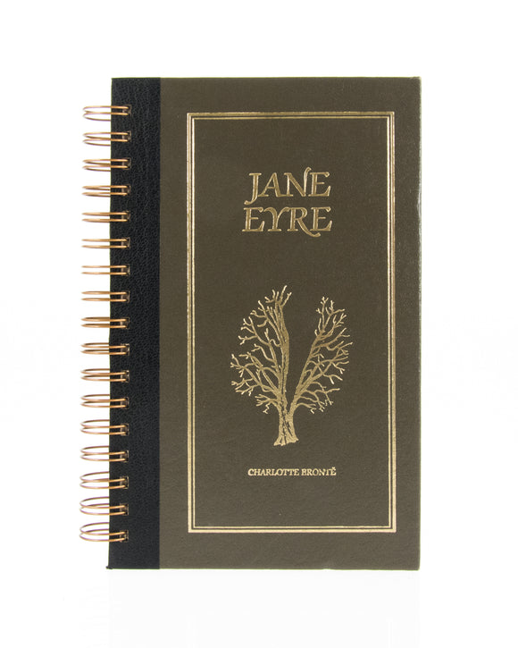 upcycled  book journal or notebook from Jane Eyre used book