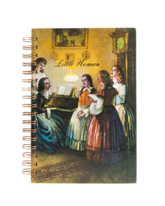 upcycled  book journal or notebook from Little Women used book