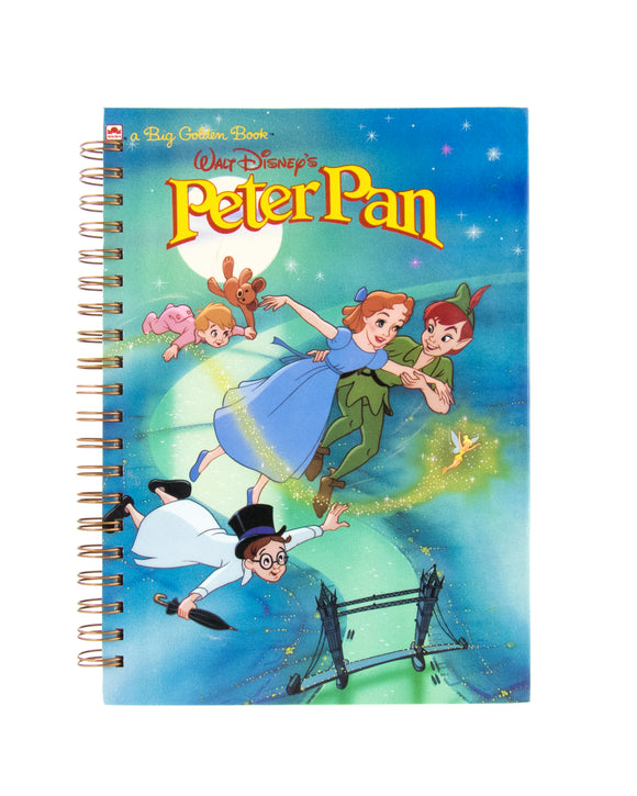 Upcycled Book Journal Notebook Peter Pan Disney