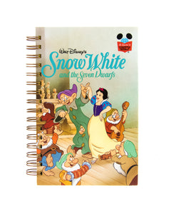 upcycled  book journal or notebook from Disney Snow White used book