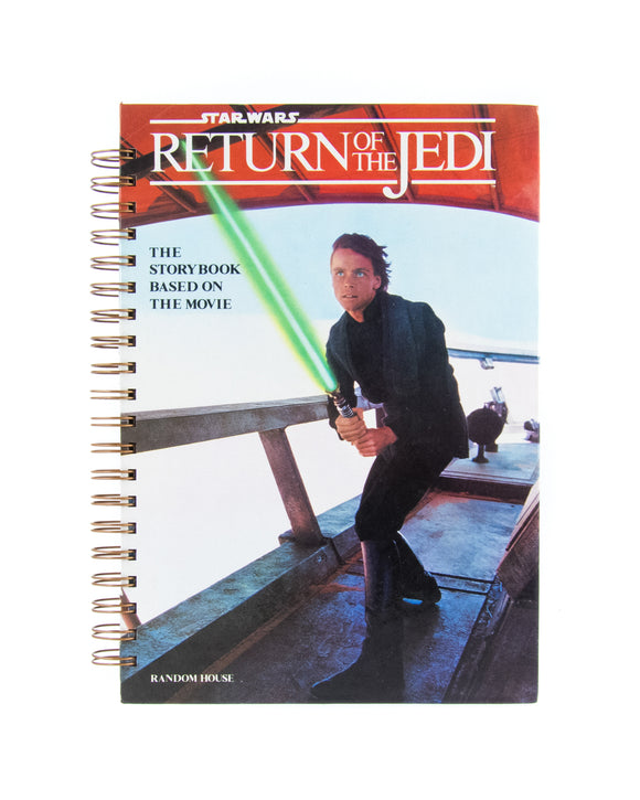 upcycled  book journal or notebook from Star Wars Return of the Jedi used book