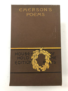 Emerson's Poems-Red Barn Collections