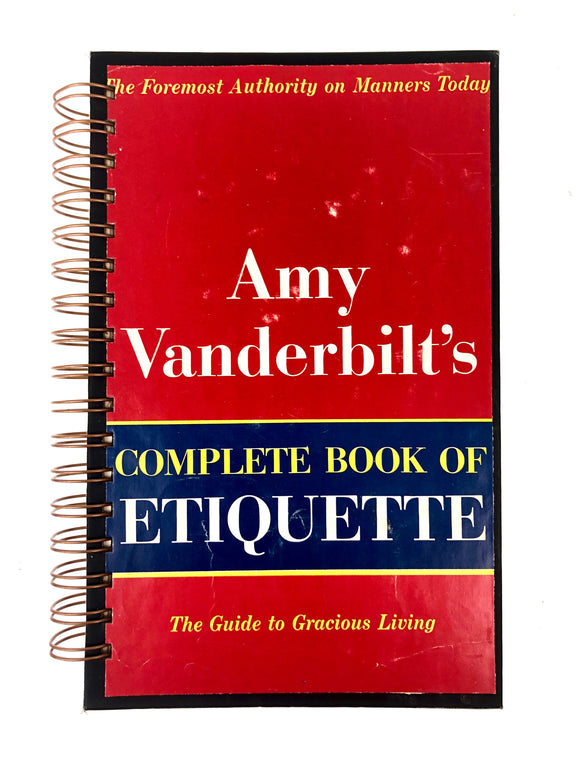 Amy Vanderbilt's Complete Book of Etiquette-Red Barn Collections