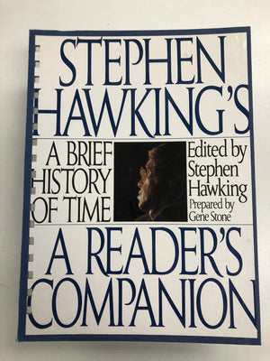 Stephen Hawking's: A Brief History Of Time-Red Barn Collections
