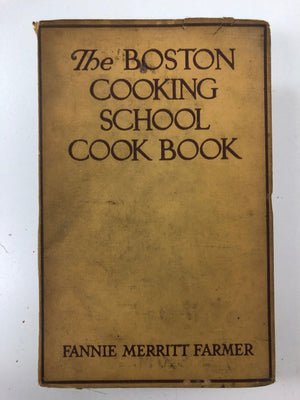 The Boston School Cook Book-Red Barn Collections
