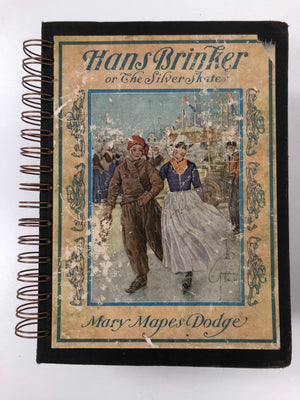 Hans Brinker or The Silver Skates Vintage 1926-Red Barn Collections