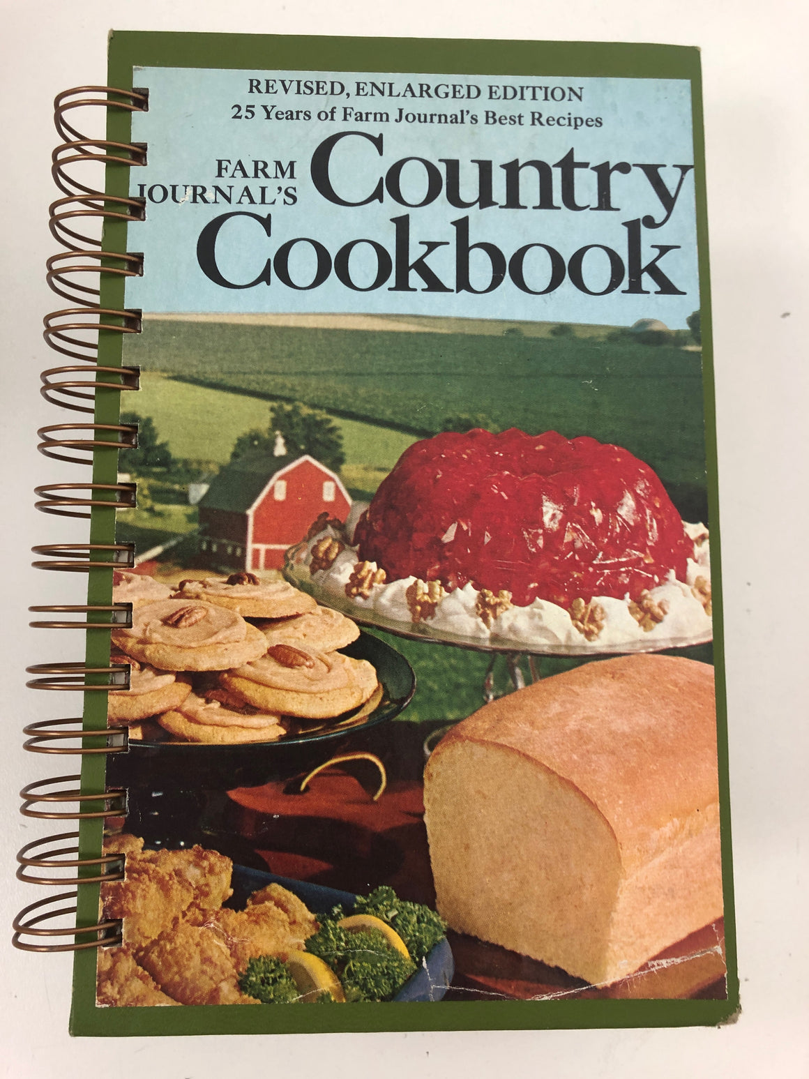 Farm Journals: Country Cookbook-Red Barn Collections
