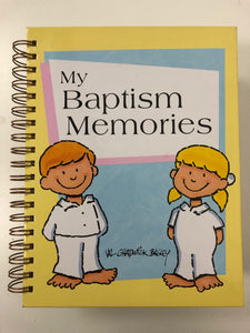 My Baptism Memories-Red Barn Collections