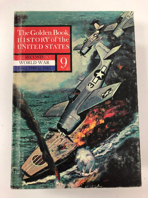 The Golden Book: History of the United States, Second World War #9-Red Barn Collections