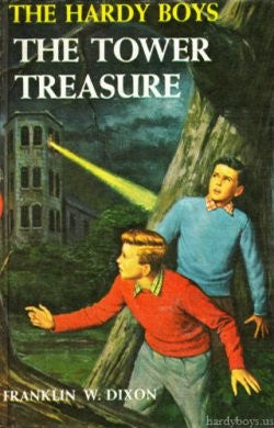 The Hardy Boys #01 - The Tower Treasure (Vintage)-Red Barn Collections