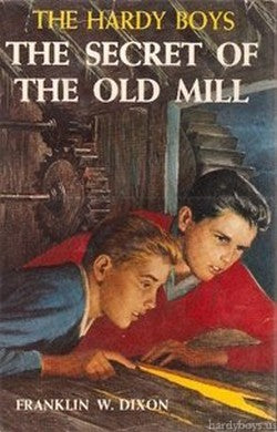 The Hardy Boys #03 - The Secret of the Old Mill (Vintage)-Red Barn Collections