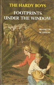 The Hardy Boys #12 - Footprints Under the Window (Vintage)