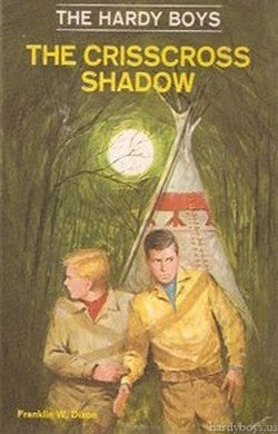 The Hardy Boys #32 - The Crisscross Shadow (Vintage)