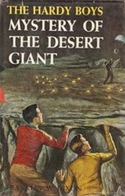 The Hardy Boys #40 - Mystery of the Desert Giant-Red Barn Collections