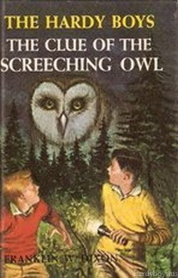The Hardy Boys #41 - The Clue of the Screeching Owl (Vintage)-Red Barn Collections