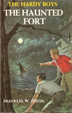 The Hardy Boys #44 - The Haunted Fort (Vintage)-Red Barn Collections