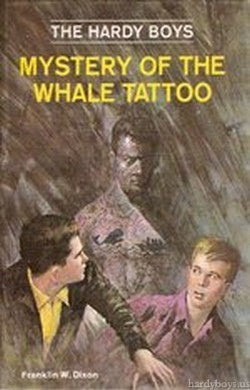 The Hardy Boys #47 - Mystery of the Whale Tattoo-Red Barn Collections