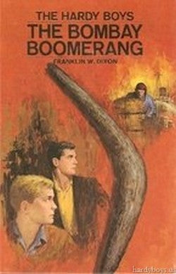 The Hardy Boys #49 - The Bombay Boomerang-Red Barn Collections