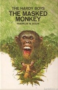 The Hardy Boys #51 - The Masked Monkey-Red Barn Collections