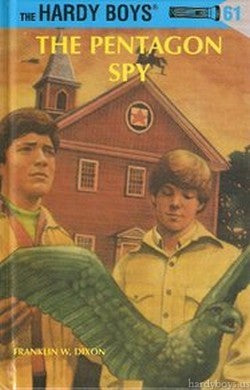 The Hardy Boys #61 - The Pentagon Spy-Red Barn Collections