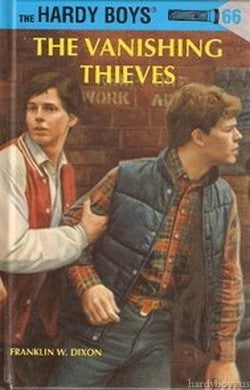 The Hardy Boys #66 - The Vanishing Thieves-Red Barn Collections