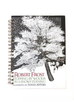 Robert Frost: Stopping by Woods on a Snowy Evening-Red Barn Collections