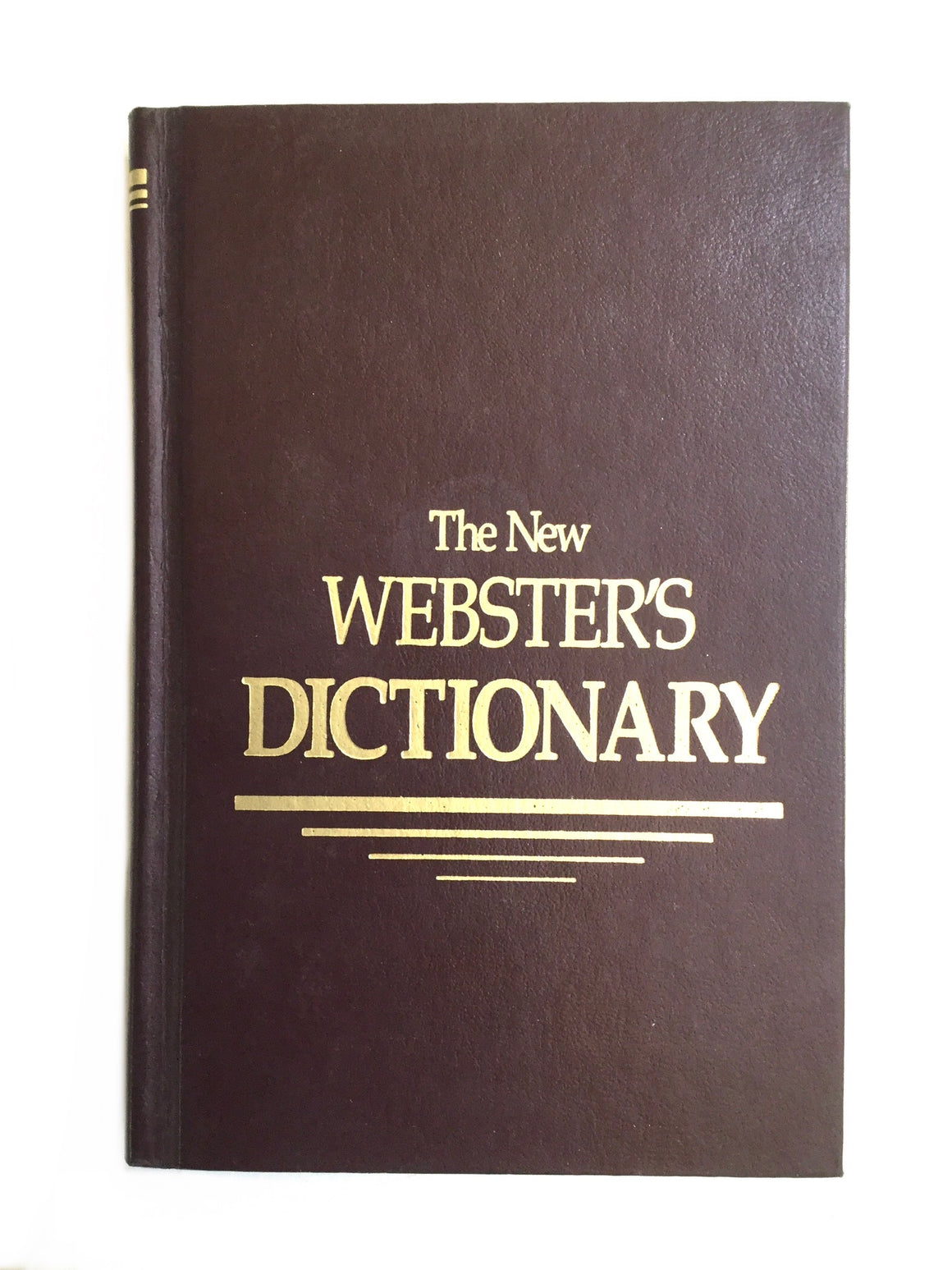 The New Webster's Dictionary-Red Barn Collections