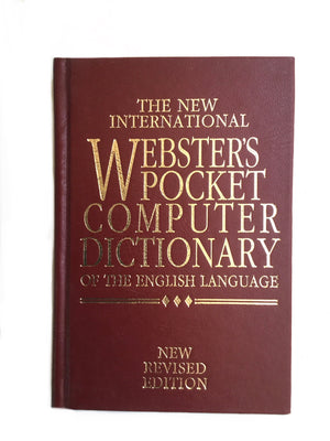 The New International Webster's Pocket Computer Dictionary-Red Barn Collections