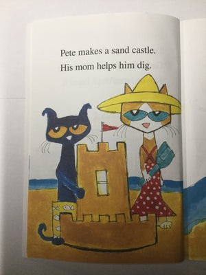 Pete the Cat: Pete At The Beach-Red Barn Collections