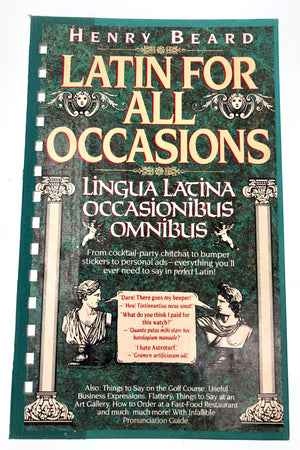 Latin for All Occassions-Red Barn Collections