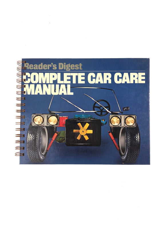 Reader's Digest: Complete Car Care Manual-Red Barn Collections