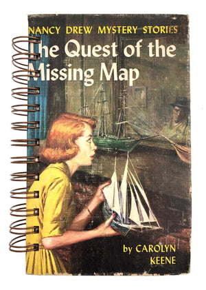 Nancy Drew #19 - The Quest of the Missing Map-Red Barn Collections