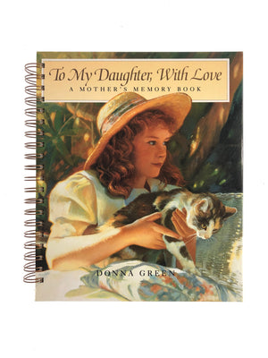 To My Daughter, With Love - A Mother's Memory Book-Red Barn Collections