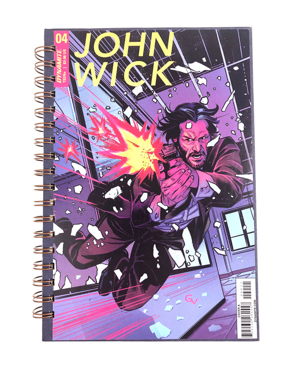 John Wick 04 Comic Journal-Red Barn Collections