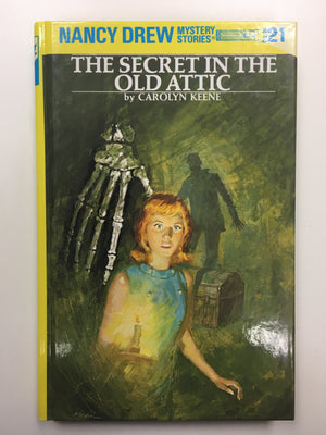 Nancy Drew #21 - The Secret in the Old Attic (vintage)-Red Barn Collections