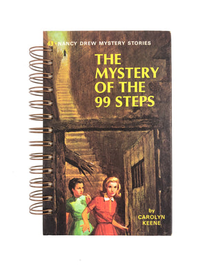 Nancy Drew #43 - The Mystery of the 99 Steps-Red Barn Collections