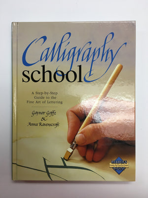 Calligraphy School A Step by Step Guide-Red Barn Collections