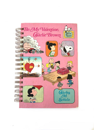 Be My Valentine, Charlie Brown Book Journal-Red Barn Collections