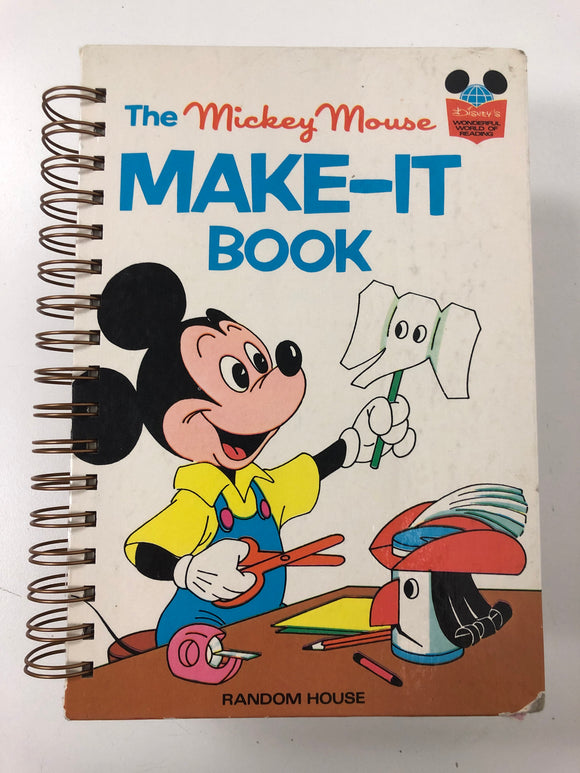 The Mickey Mouse Make-It Book-Red Barn Collections