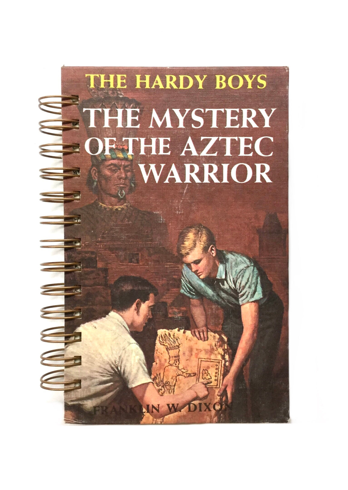 The Hardy Boys #43 - The Mystery of the Aztec Warrior-Red Barn Collections