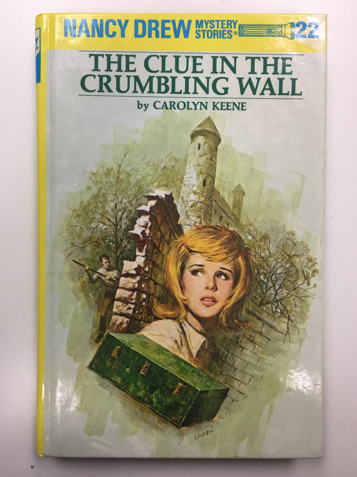 Nancy Drew #22 - The Clue in the Crumbling Wall-Red Barn Collections