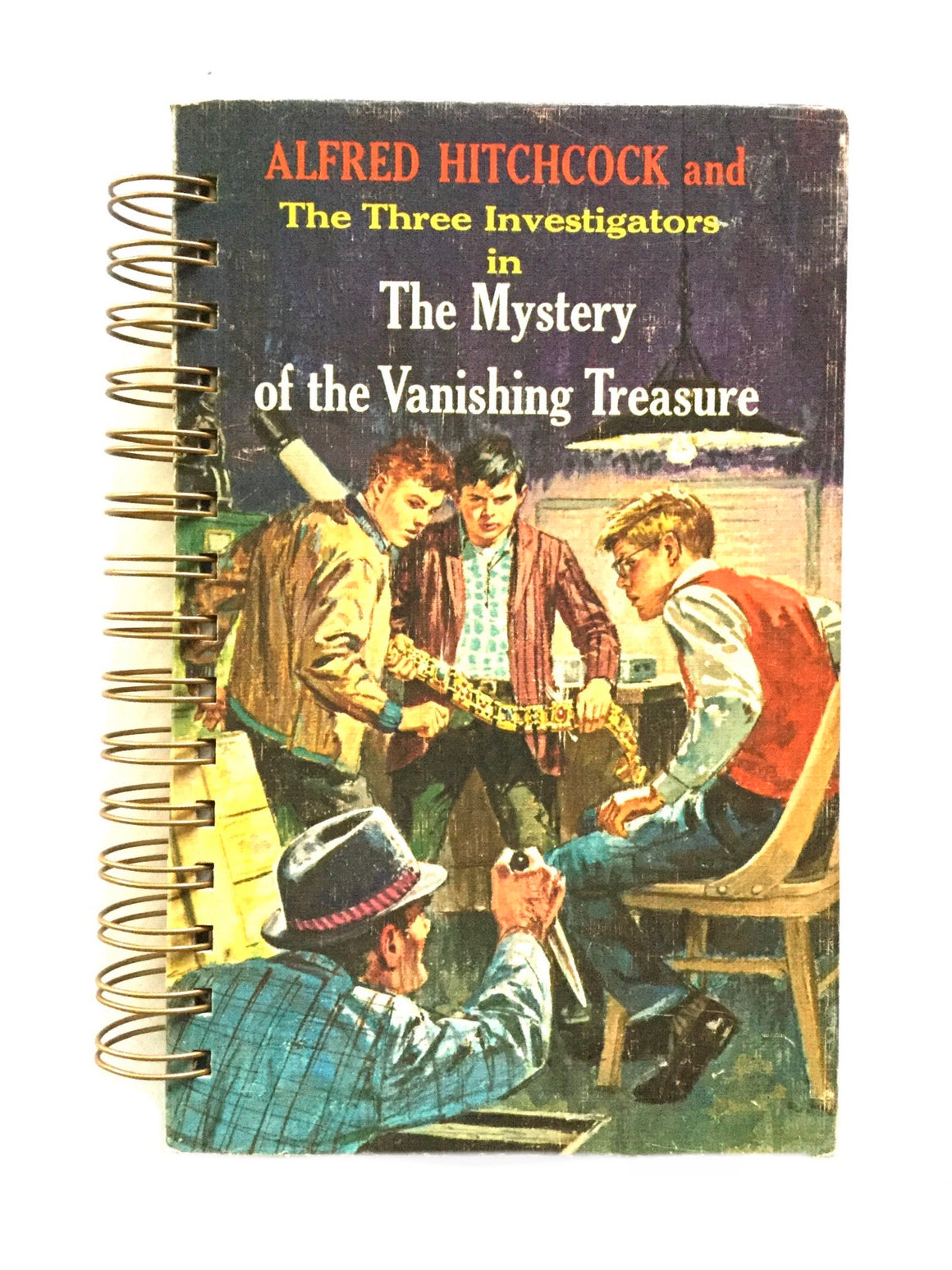 Three Investigators in The Mystery of the Vanishing Treasure-Red Barn Collections