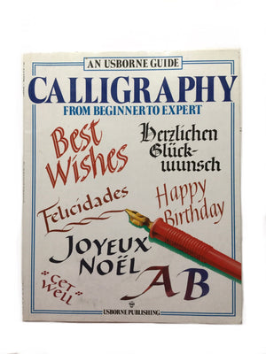 Calligraphy From Beginner to Expert-Red Barn Collections