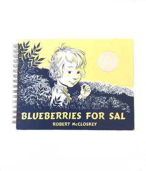 Blueberries for Sal Book Journal-Red Barn Collections