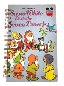 Snow White Visits the Seven Dwarfs-Red Barn Collections