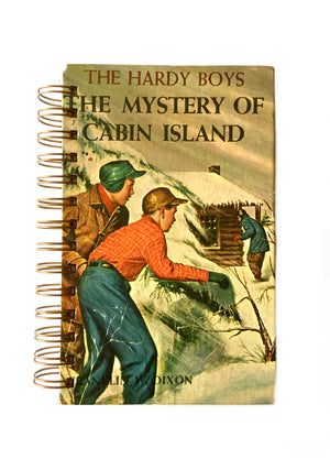 The Hardy Boys #08 - The Mystery of Cabin Island-Red Barn Collections