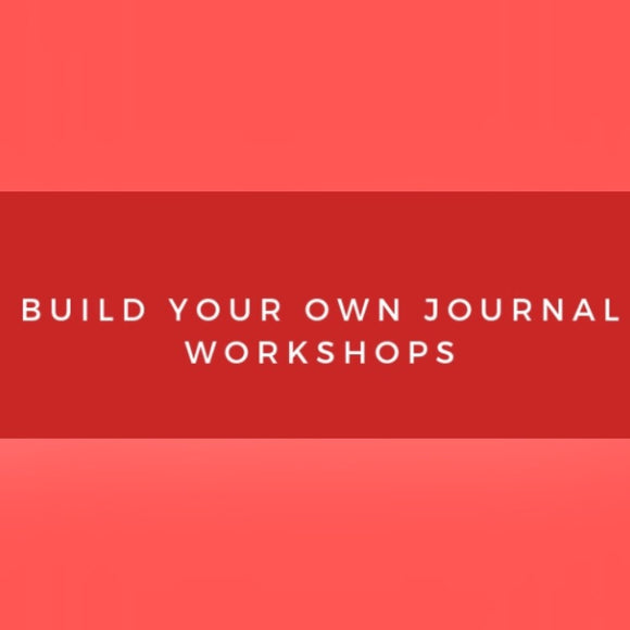 Build Your Own Journal Workshop-Red Barn Collections