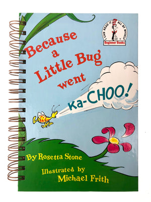 Because a Little Bug went Ka-Choo!-Red Barn Collections